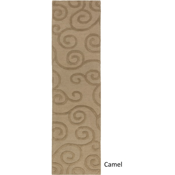 Hand Tufted Passo Wool Rug - 2' x 8'
