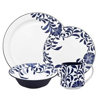 Denby Malmo Bloom 4-piece Placesetting