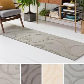 Hand Tufted Pinon Wool Rug - 2' x 8'