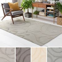 The Gray Barn Hugo Hand-tufted Scrollwork Wool Rug - 8' x 10'