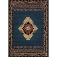 Manhattan Tucson Light Blue Area Rug - 9'2 x 12'6