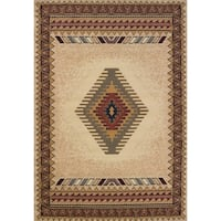 United Weavers Manhattan Tucson Cream Area Rug - 9'2 x 12'6