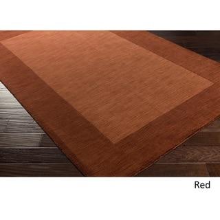 Hand Loom Quail Wool Rug (5' x 8')