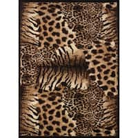 Legends Painted Skins Polypropylene Area Rug - 9'2 x 12'6