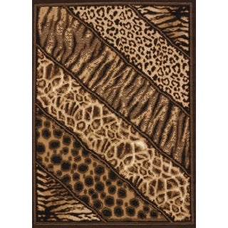 Legends Slanted Safari Area Rug (3'3 x 4'11)