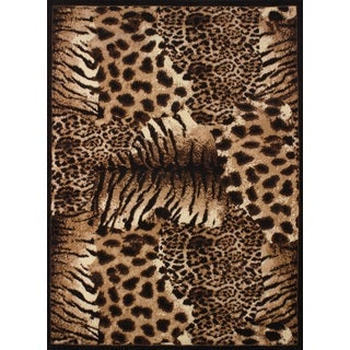 Legends Painted Skins Area Rug (3'3 x 4'11)
