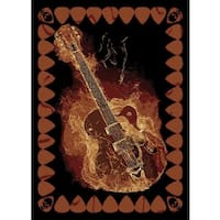 Legends Strummer Area Rug - 3'3 x 4'11