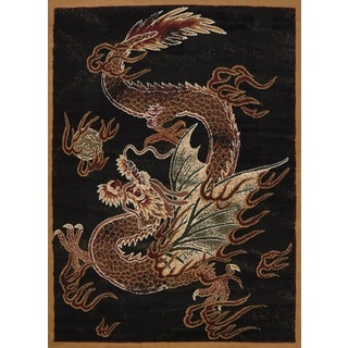 Legends Dragon Luck Area Rug (3'3 x 4'11)