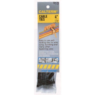 Calterm 73172 Nylon Cable Ties 17-count - Grey