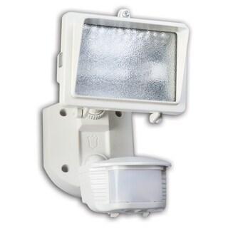 Designers Edge L6006WH White Single Head Flood Light