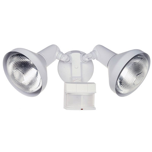 Shop heath zenith white metal security spotlight motion sensing par heath zenith white metal security spotlight motion sensing par 38 120 watts aloadofball Image collections