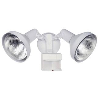 Shop Heath Zenith White Metal Security Spotlight Motion