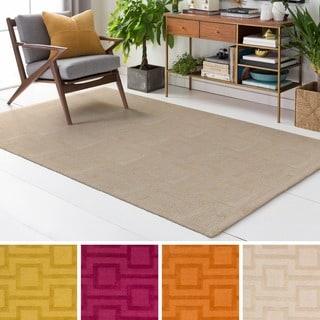 Hand Tufted Pecan Wool Rug (9' x 13')