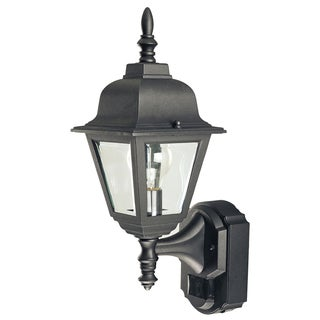 Heathco HZ-4191-BK Bk-country Cottage Style Motion Activated Decorative Lantern