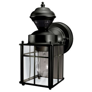 Heathco HZ-4132-BK Black Bayside Mission Motion Activated Security Lantern