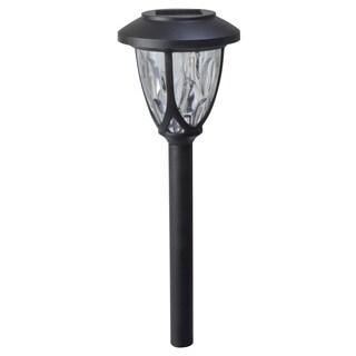 "Moonrays 97517 8.8"" Black Plastic Meredith Solar Path Light"