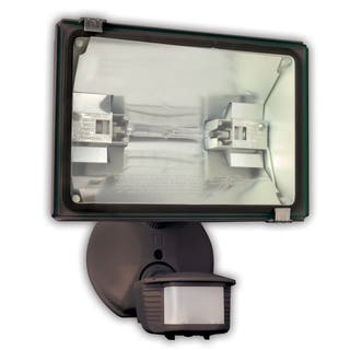 Designers Edge L6009br 500 Watt Bronze 180 Single Head Security Flood Light