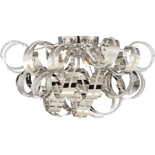 Quoizel Platinum Collection Ribbons Extra Large Flush Mount