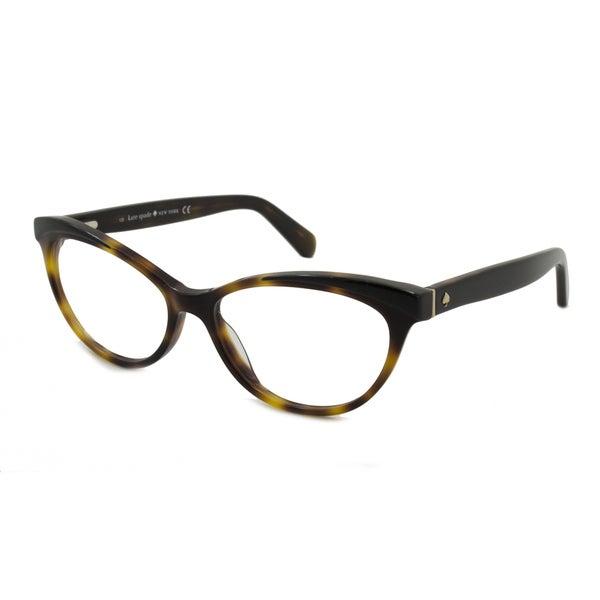 faf6976f862 Shop Kate Spade Women s Steffi Cat-Eye Reading Glasses - Free ...