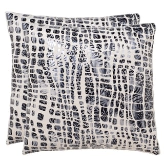 Safavieh Cleo 20-Inch Grey Moon Decorative Throw Pillow (Set of 2)