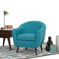 Wyndenhall Harper Linen Look Tub Chair Free Shipping