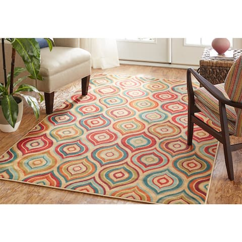 "Mohawk Home Woodbridge Larache Area Rug (7'6 x 10') - 7'6"" x 10'"