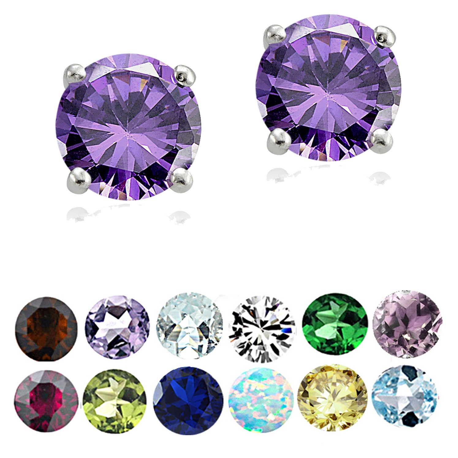 396316a4b3d6dc Gemstone Earrings | Find Great Jewelry Deals Shopping at Overstock
