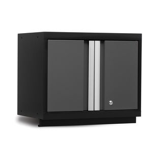 Bold Series Grey, Red Steel 18-inch x 24-inch x 12-inch Lockable Wall Cabinet