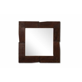 Spectacular Mirror Frame With 2 Leaves