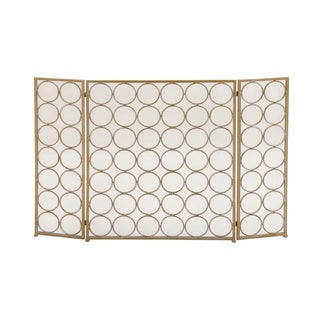 Metal Fire Screen (47 inches wide x 32 inches high)