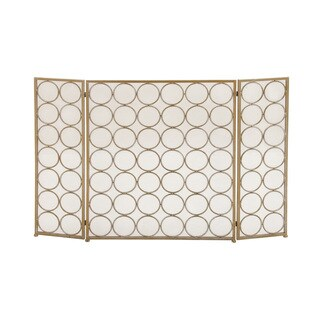 Oliver & James Buri Dot Metal Fire Screen