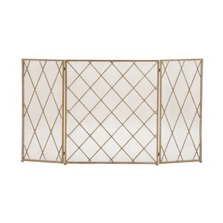 Metal Fire Screen (52 inches wide x 31 inches high)