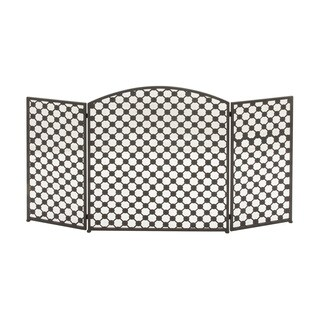 Metal Fire Screen (52 inches wide x 30 inches high)