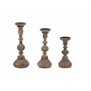 Beautiful Set of Three Candle Stand