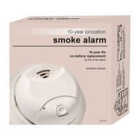 First Alert 0827B White 10 Year Ionization Smoke Alarm