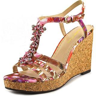 Adrienne Vittadini Women's 'Canis' Fabric Sandals