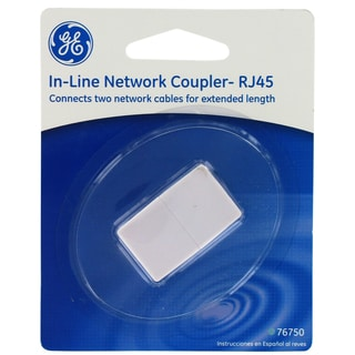GE Jasco 76750 In Line Network Coupler RJ45