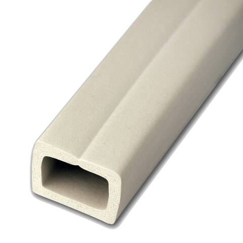 Q Knot UTW-CC1001-WH 10' White Cord Channel