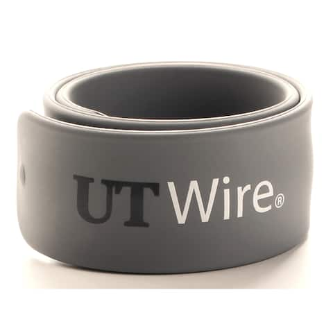 """Q Knot UTW-SWM2-GY 10"""" Gray Speedy Magnetic Cable Wrap 2-count"""