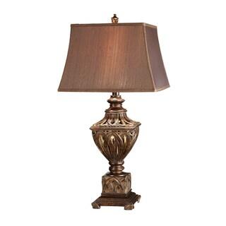 Monticello Rich Bronze 34.5-inch Table Lamp