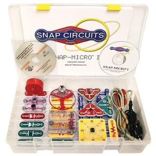 Elenco Snap Circuits Micro I Standard Plastic Electronics Kit