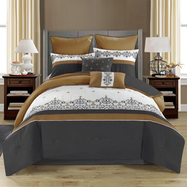 Alexander Reversible 8-piece Comforter Set