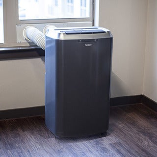 Avallon 14,000 BTU Dual Hose Portable Air Conditioner And Heater Sold By Living  Direct