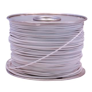 Southwire 55669023 100' X 14 Gauge White GPT Primary Wire Cable Principal