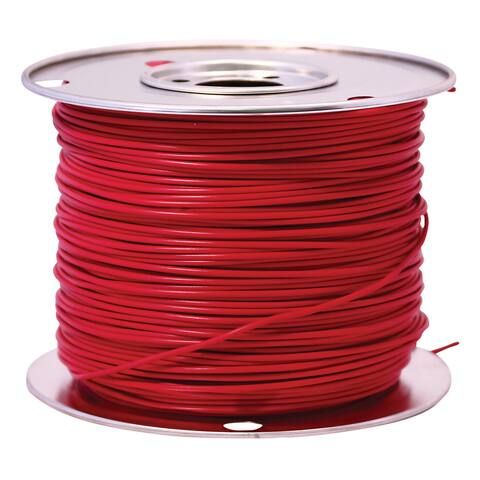 Southwire 55669123 100' X 14 Gauge Red GPT Primary Wire Cable Principal