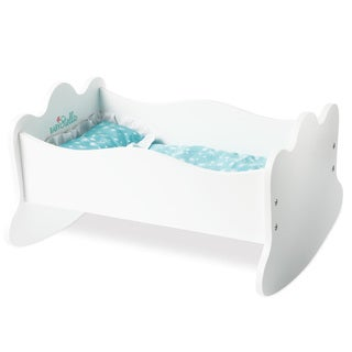 Manhattan Toy Baby Stella Time to Sleep Cradle for 15-inch Dolls