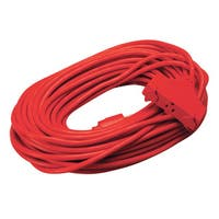 Shop Coleman Cable 02408 50 14 3 Red Extension Cord