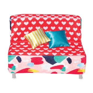 Manhattan Toy Groovy Girls - Heart to Heart Sofa Doll Accessory
