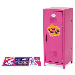 Manhattan Toy Groovy Girls Posh in Pink Locker