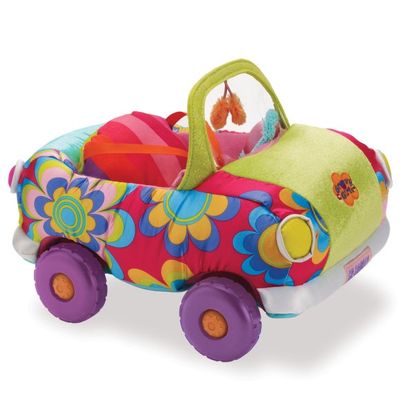 Manhattan Toy Groovy Girls Wheelin' In Style Multicolor Fabric Plush Toy Car